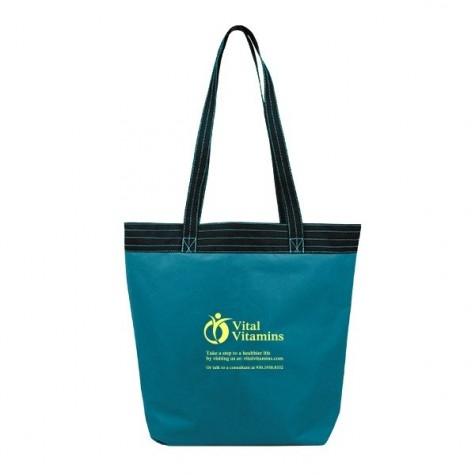 Accent Stitch Tote Bag