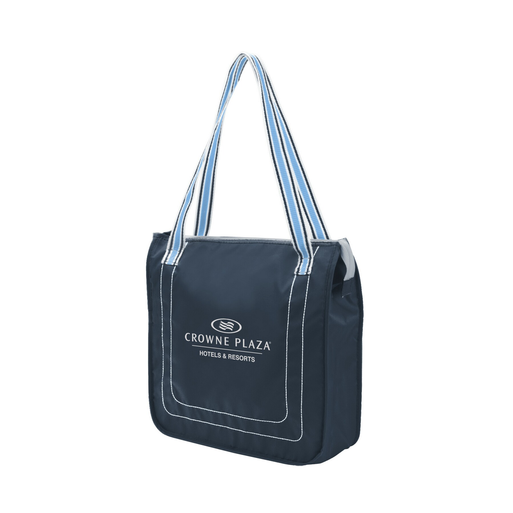 Color Band Tote Bag Cooler
