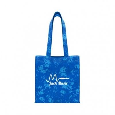 Distressed Printed Economy Tote Bag