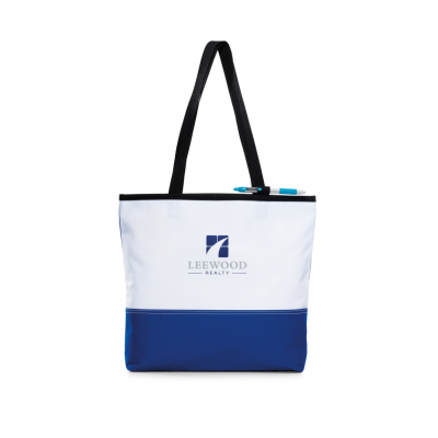 Encore Convention Tote Blue-White