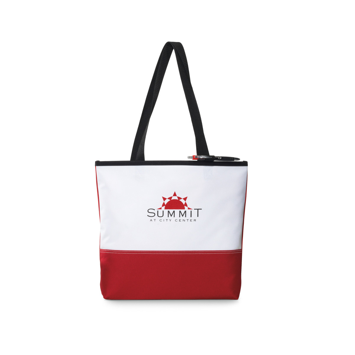 Encore Convention Tote Red-White