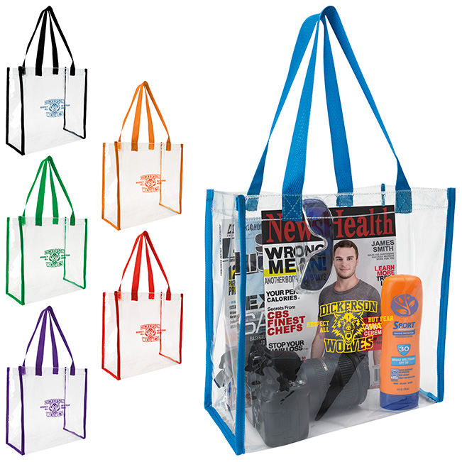 GoodValue® Clear Game Tote Bag