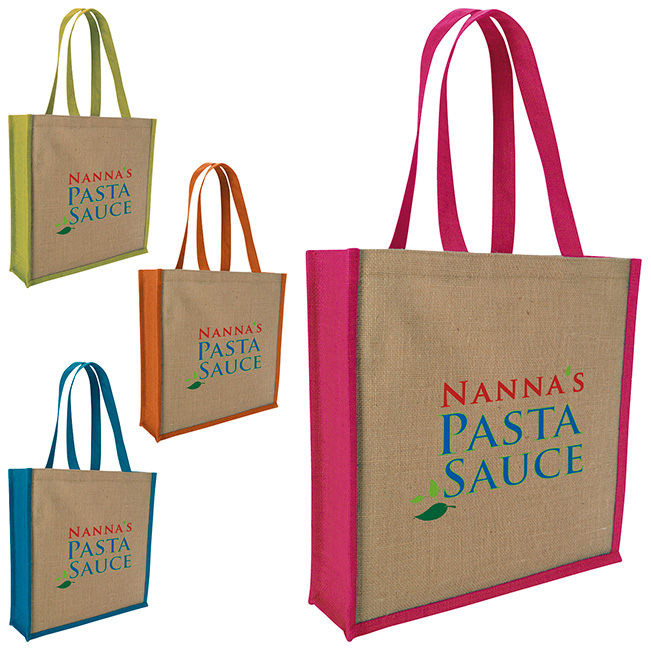 GoodValue® Jute Portrait Tote Bag