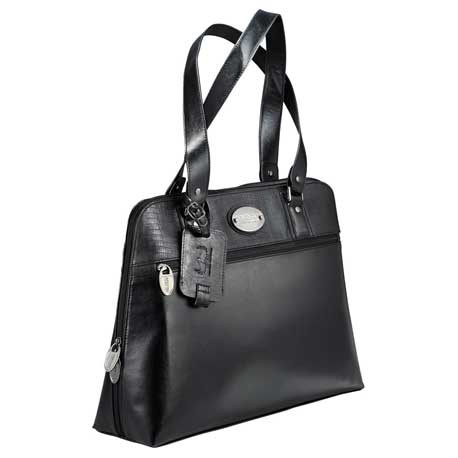 "Kenneth Cole® Snake-Trimmed 16"" Computer Tote"