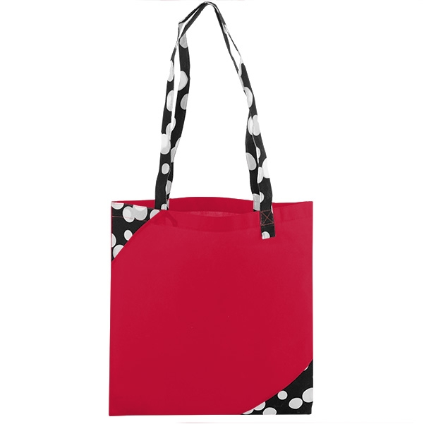 Polypro Printed Accent Tote Bag