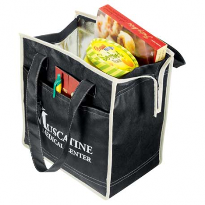 Quilted Insulated Non-Woven Tote