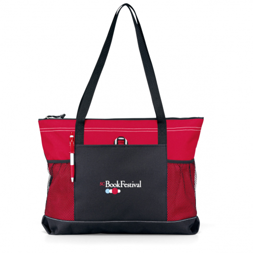 Select Zippered Tote - Red
