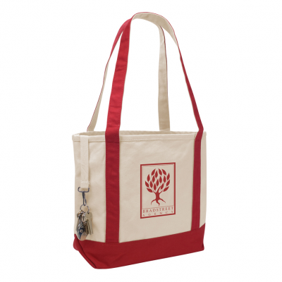 Small Accented Boat Tote Bag