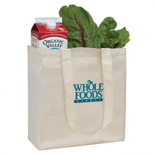 V Natural™ Organic Grocery Tote Bag
