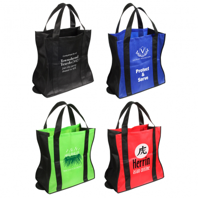 Wave Rider Folding Tote Bag