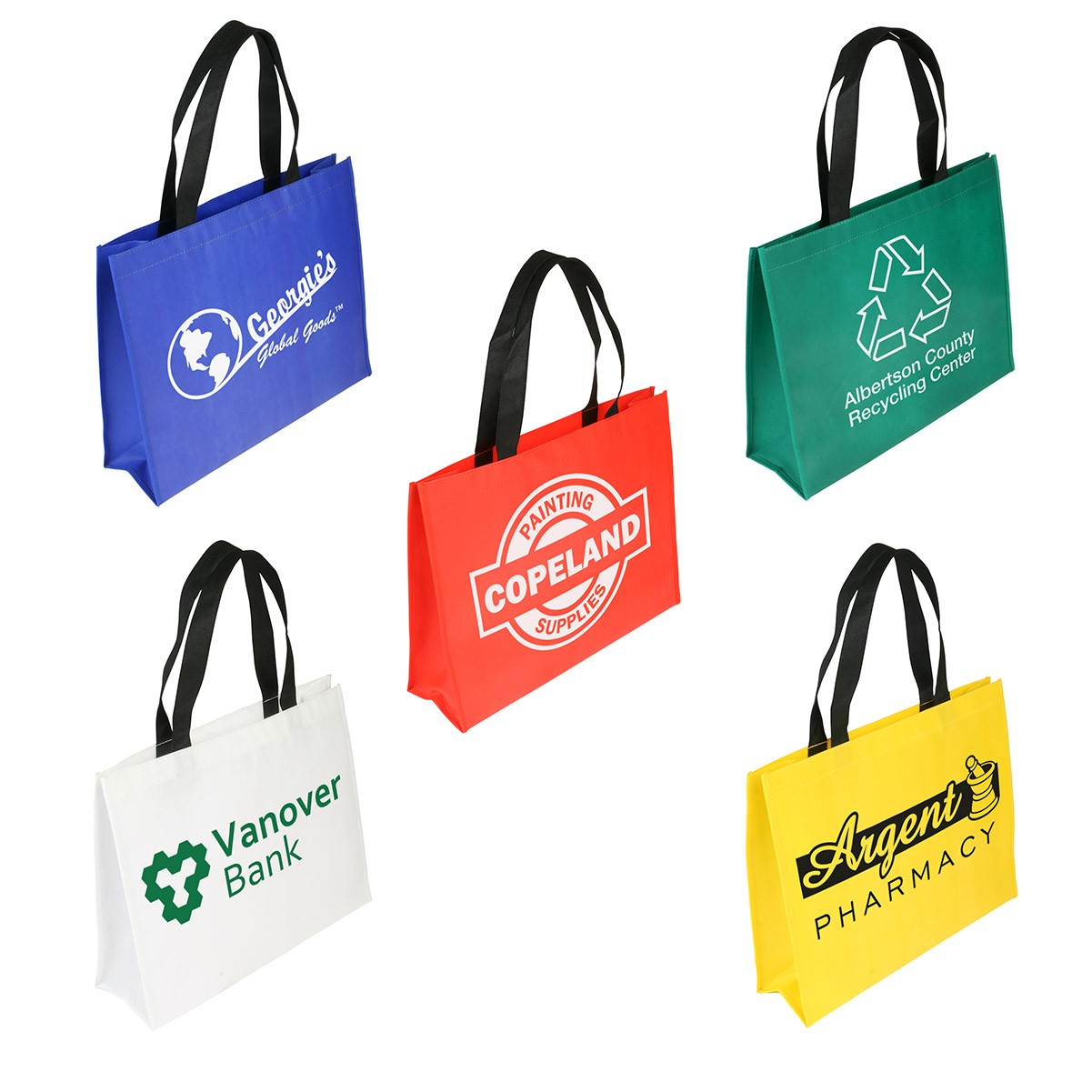 Raindance Large Size Water Resistant Coated Tote Bag