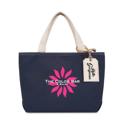Cameron Cotton Mini Tote Blue