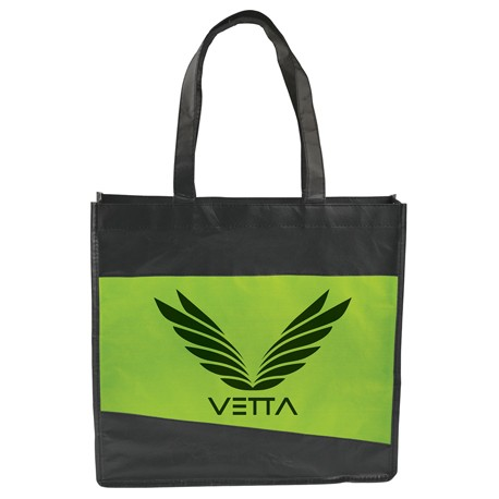 Laminated Non-Woven Convention Tote