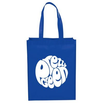 Mid-Size Laminated Shopper Tote