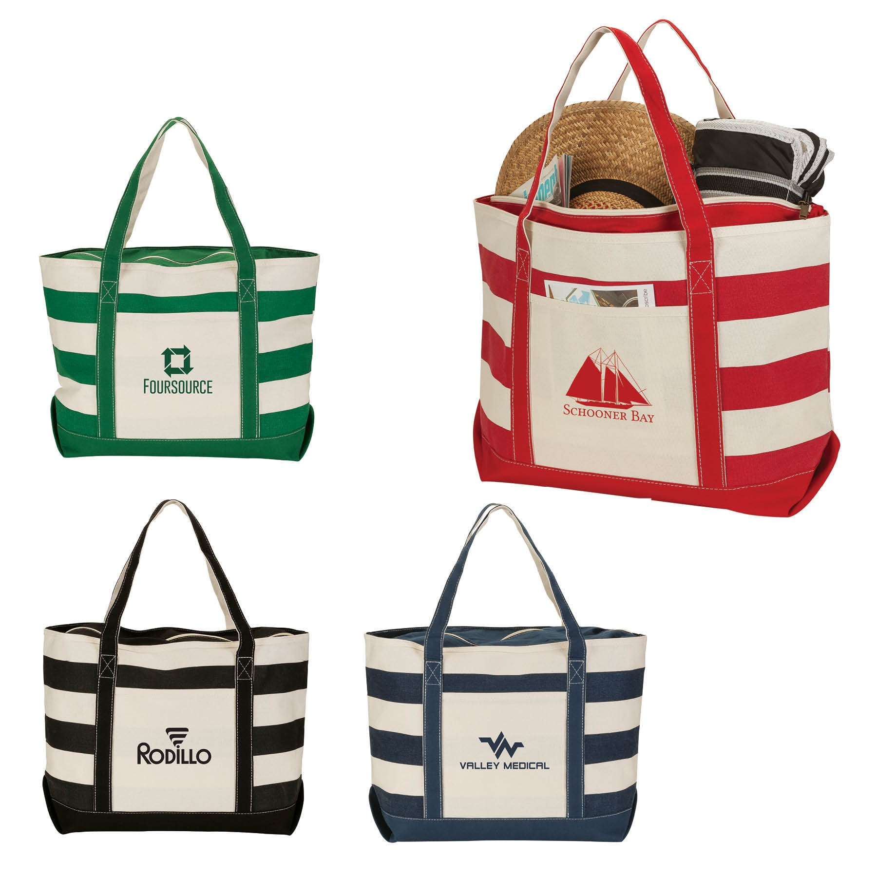 Newport Natural Canvas Tote Bag