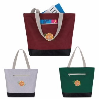 GoodValue® Front Pocket Tote Bag