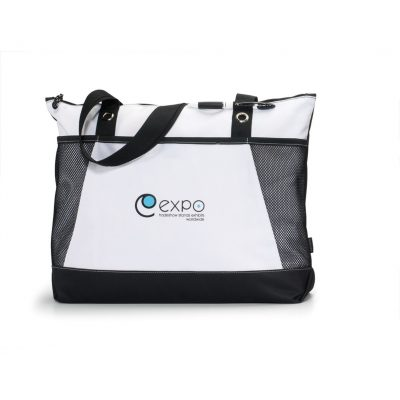 Venture Business Tote Black-White