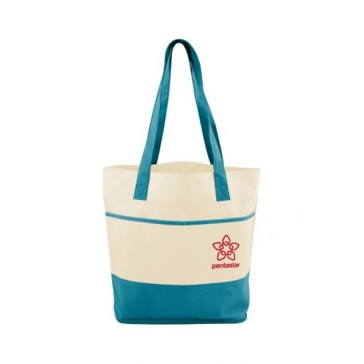 Mesh Bottom Beach Tote Bag
