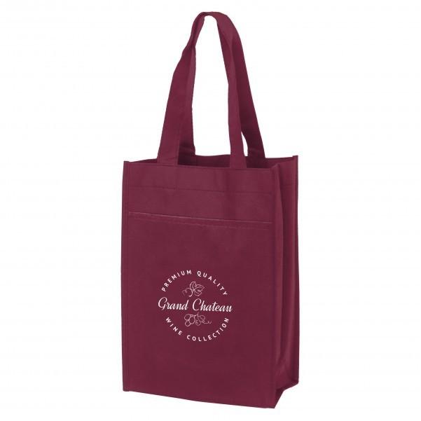 Poly Pro Dual Wine Tote Bag