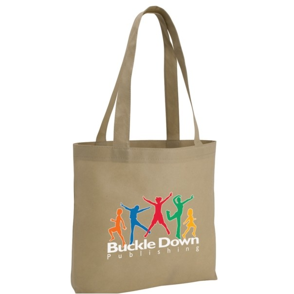 Poly Pro Tote Bag w/Gusset