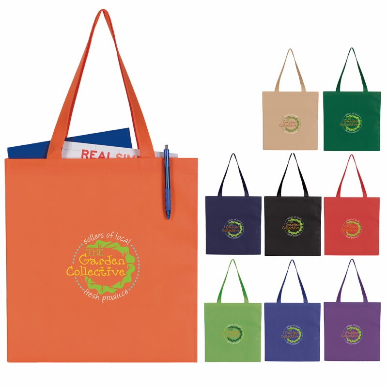GoodValue® Non-Woven Budget Tote Bag