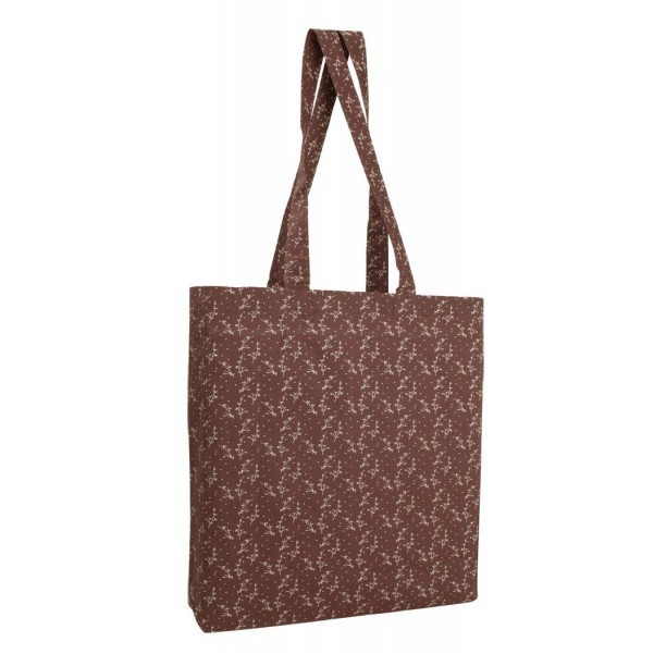 Printed Gusseted Economy Tote Bag