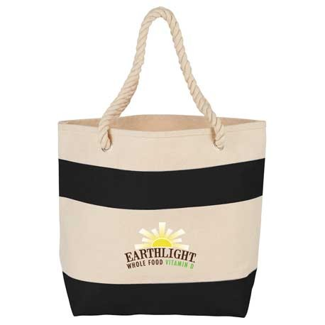 Rope Handle 16oz Cotton Canvas Tote
