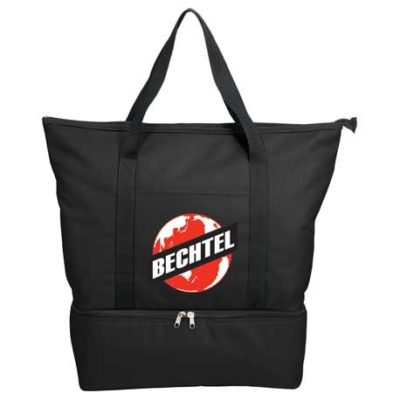 Drop Bottom 12-Can Cooler Tote