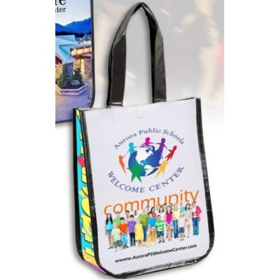 50d7dcc056 Lauren Small Non-Woven Full Color Laminated Wrap Tote Bag (Overseas)