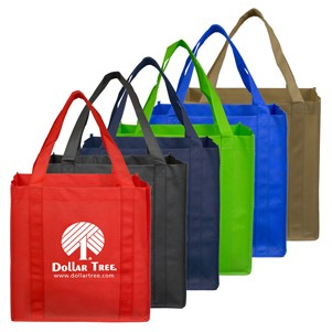 """Mega"" Grocery Shopping Tote Bag (Overseas)"
