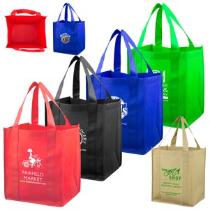 """Super Mega"" Grocery Shopping Tote Bag (Overseas)"