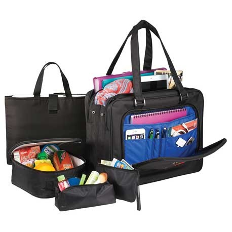 """Professional 5-Piece 15"""" Computer Tote Bag"""