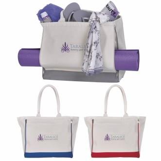 Yoga Retreat Cotton Tote Bag