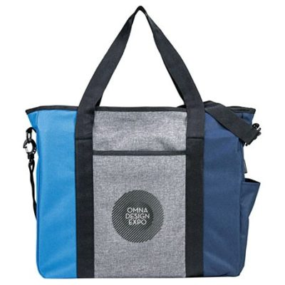 Triad Zippered USB Tote