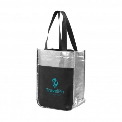 Metallic Poly Pro Mini Tote Bag