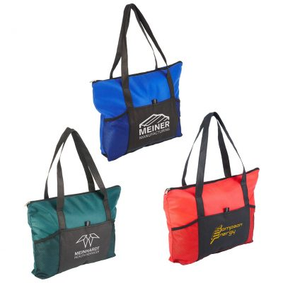 Feather Flight Zippered Tote Bag