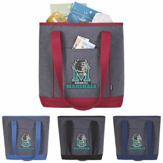 Koozie® Two-Tone Lunch Time Kooler Tote Bag