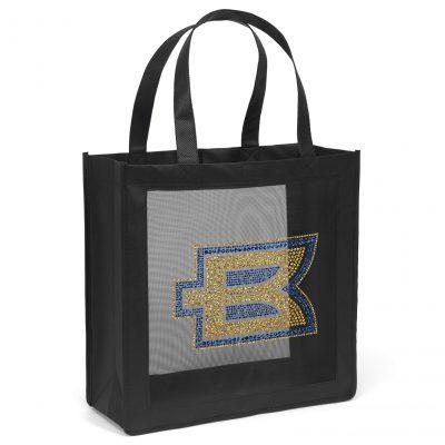 Crowne Mesh Panel Tote Bag (Sparkle)