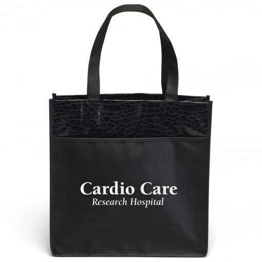 Debonaire™ Gloss-Laminated Tote Bag (Screen Print)