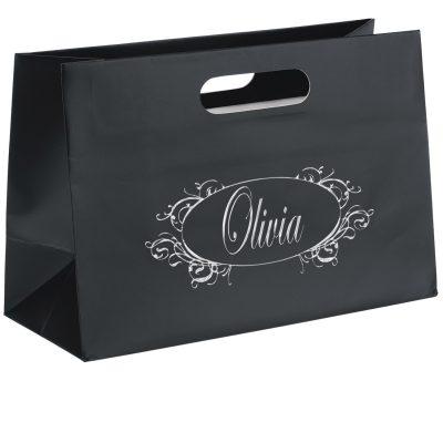 Olivia™ Boutique Die Cut Handle Tote