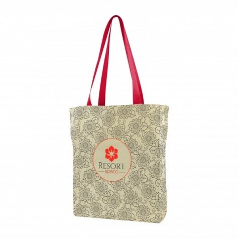 USA Made Gusseted Tote All Over Print