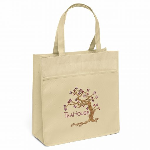 Urban™ Mesh-Laminated Tote Bag (Sparkle)