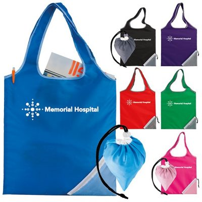 BIC Graphic® Fold-Up Cinch Corner Tote