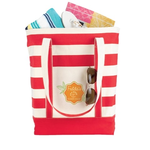 BIC Graphic® Striped Cotton Tote