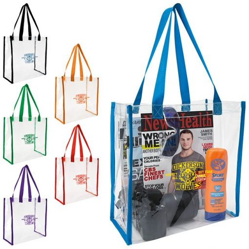Good Value® Clear Game Tote Bag