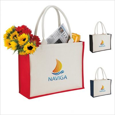 Good Value® Cotton Landscape Tote Bag