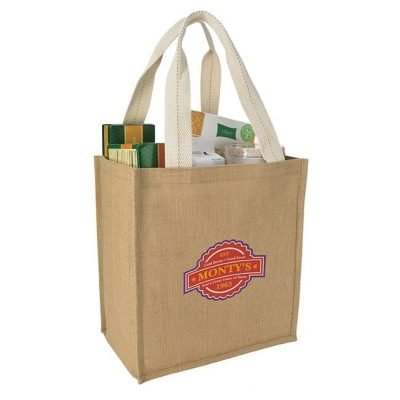 Good Value® Jute Grocery Tote Bag