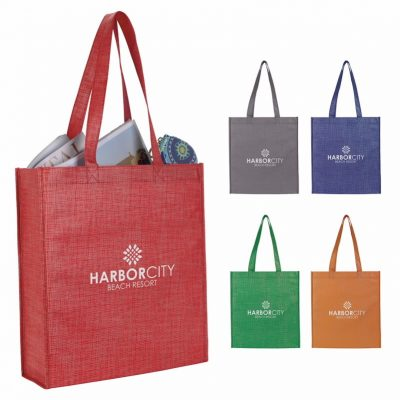 903d31aed9 Good Value® Non-Woven Shimmer Tote
