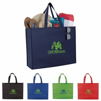 Good Value® Non-Woven Shopper Tote Bag