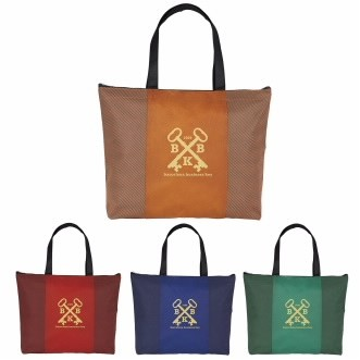 Good Value® Slanted Stripes Non-Woven Tote